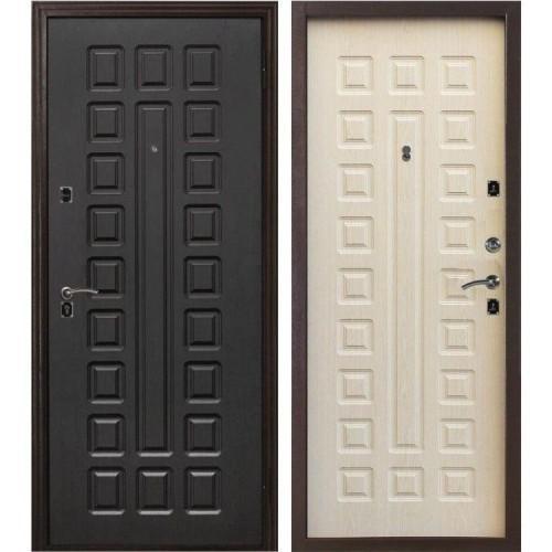 Входная дверь - Лекс Гладиатор Нео 2к (Венге-Беленый дуб)