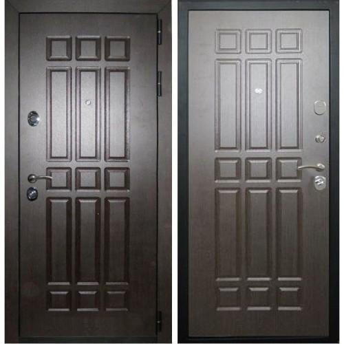 Входная дверь - Лекс 8 Сенатор 2к (Венге-Венге)