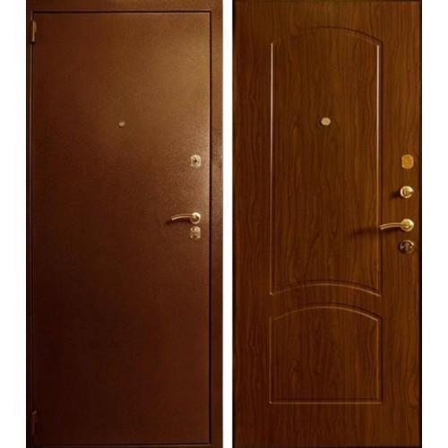 Входная дверь - Лекс 1а Орех Тисненый