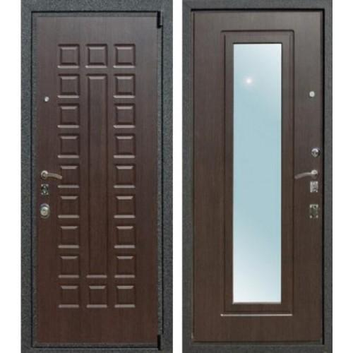 Входная дверь - Лекс 4 Зеркало венге