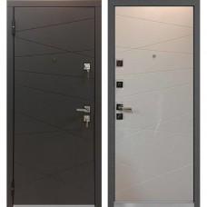 Входная дверь - Mastino Monte Графит софт/Белый софт SECUREMME(италия) 88R