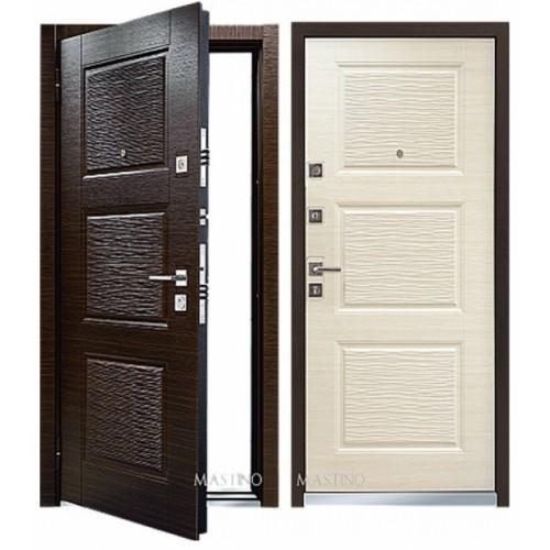Входная дверь - Mastino Monte (Line 3) Темный Венге/Светлый Венге