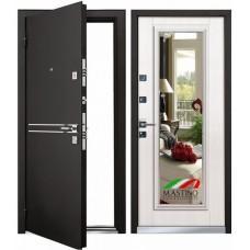 Входная дверь - Mastino Cielo (Parko) Черный шелк/Шамбори Светлый