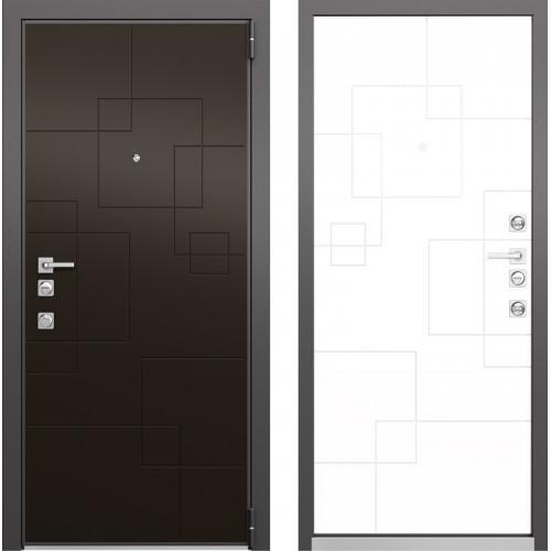 Входная дверь - Mastino FORTE Молочный Шоколад MS-113, Милк Матовый MS-113