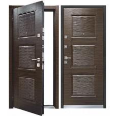 Входная дверь - Mastino Monte (Line 3) Темный Венге/Темный Венге 88R