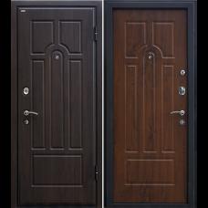 Входная дверь - Входная дверь МеталЮр М5 (темный орех)