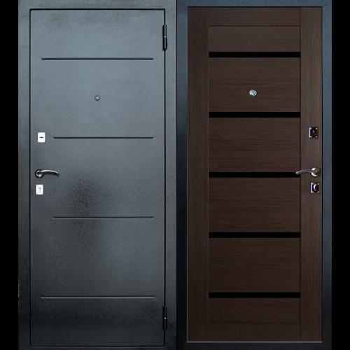 Входная дверь - Входная дверь МеталЮр Т7 венге