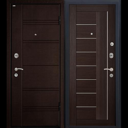 Входная дверь - Входная дверь МеталЮр М17 (венге мелинга)
