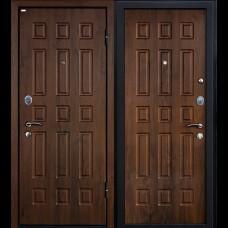 Входная дверь - Входная дверь МеталЮр М3 (темный орех)