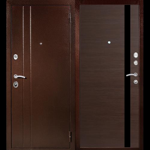 Входная дверь - Входная дверь МеталЮр T6 венге