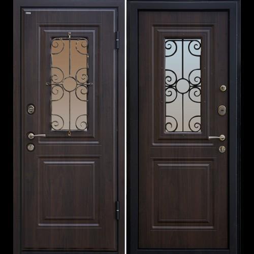 Входная дверь - Входная дверь МеталЮр М32 (венге)