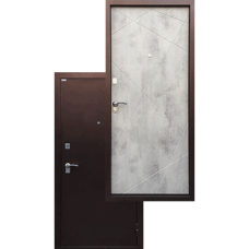 Входная дверь - Ратибор Рубеж светлый бетон