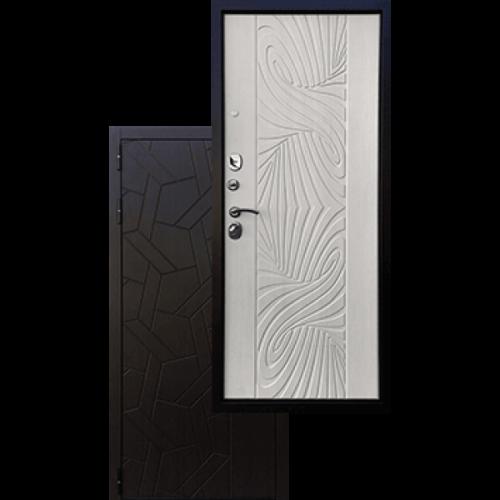 Входная дверь - Ратибор Витраж 3К Лиственница