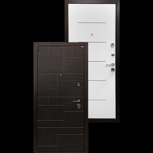 Входная дверь - Ратибор Омега 3К Белый ясень