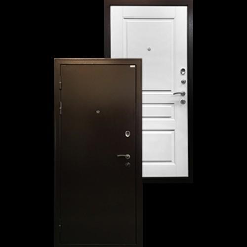Входная дверь - Ратибор Статус белый ясень
