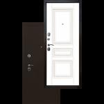 Входная дверь - Ратибор Троя 3К Белый матовый