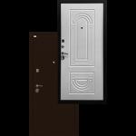 Входная дверь - Ратибор Оптима 3К Матовый белый
