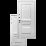 Входная дверь - Ратибор Сноу 3К Силк сноу
