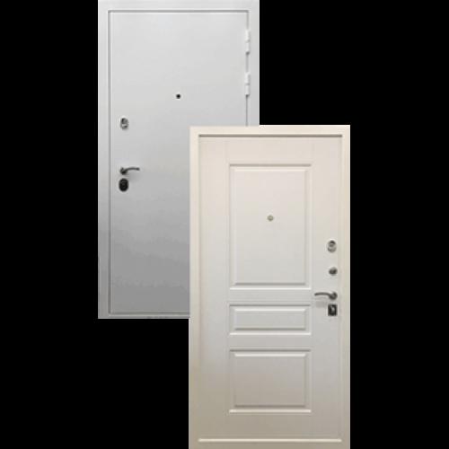Входная дверь - Ратибор Бланко 3К Матовый Белый