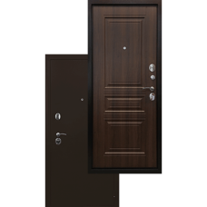 Входная дверь - Ратибор Троя 3К Орех бренди