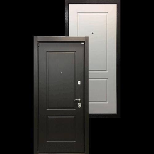 Входная дверь - Ратибор Барьер 3К Белый Ясень