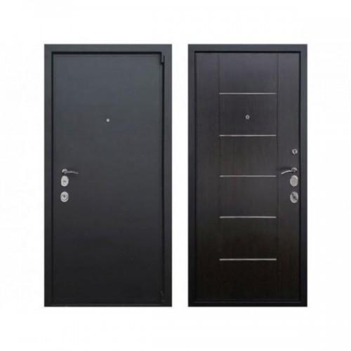 Входная дверь REX 3 M Молдинг Венге