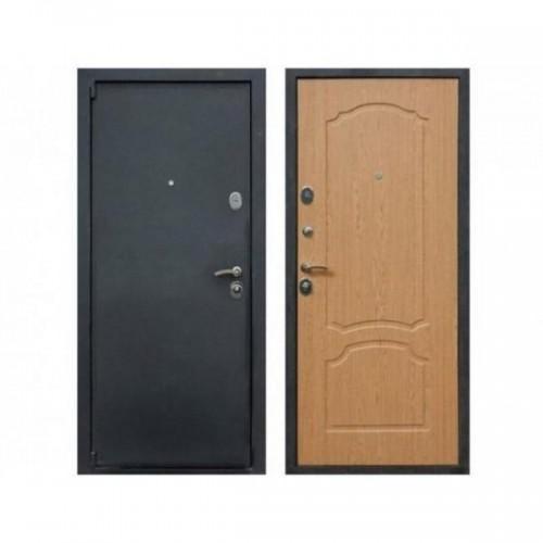Входная дверь REX 3 Дуб светлый