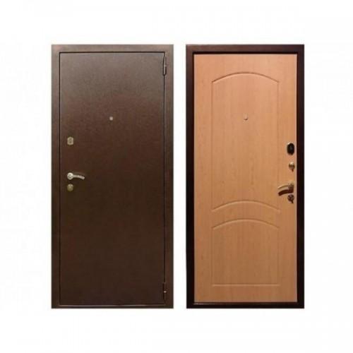 Входная дверь REX-1A Дуб светлый