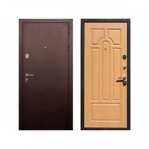 Входная дверь REX 5А Дуб светлый