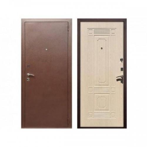 Входная дверь REX 1 Беленый дуб