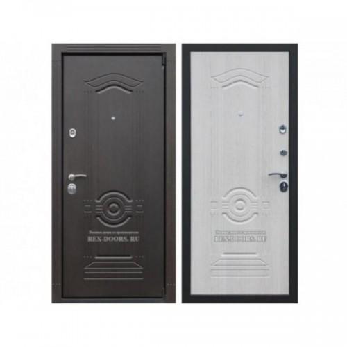 Входная дверь REX Гранд Венге / Ясень белый