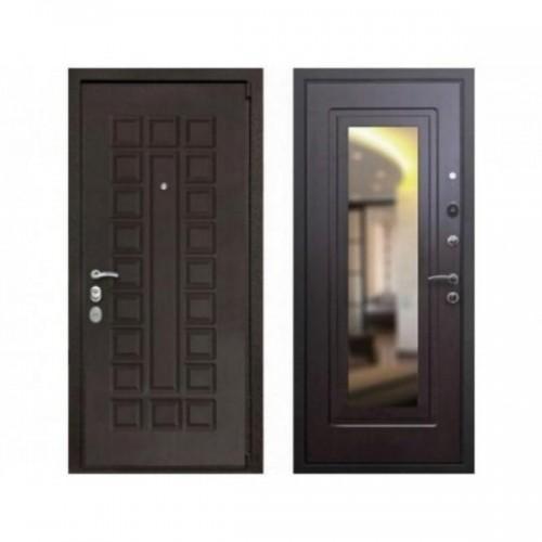 Входная дверь Rex 4А Mottura с зеркалом Венге / Венге