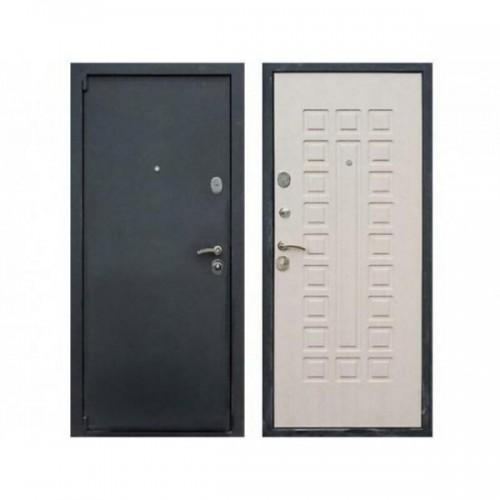 Входная дверь REX 3 Беленый дуб