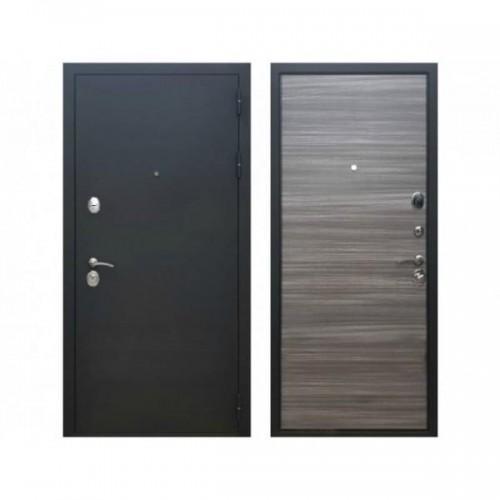 Входная дверь REX 5A Сандал серый горизонт