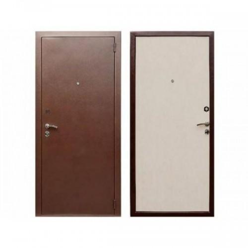 Входная дверь REX Эконом Беленый дуб