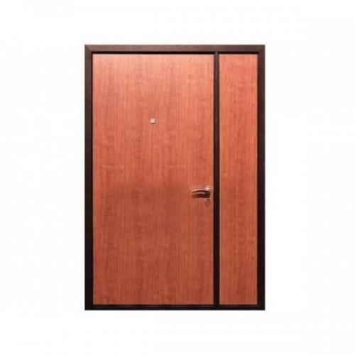 Входная дверь REX Двухстворчатая (Тамбурная) Итальянский орех