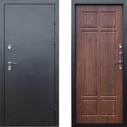 Входная дверь с терморазрывом - Сибирь термо антик серебро орех (TD)