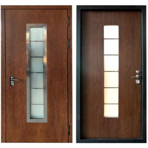 Входная дверь с терморазрывом Термо Хаски 3К шпон дуба (ND)