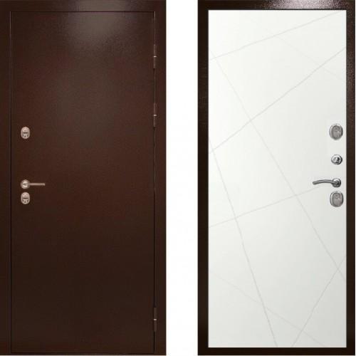 Входная дверь с терморазрывом - Сибирь термо белые лучи (TD)