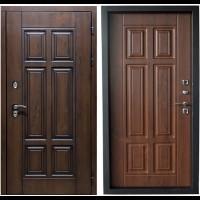 Входная дверь с терморазрывом Термо Премиум 3К Грецкий орех (ND)