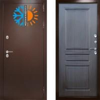 Входная дверь с терморазрывом -  Сибирь термо венге