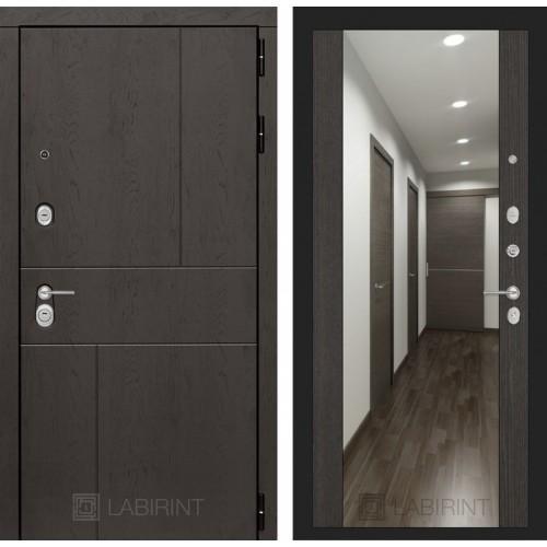 Входная дверь - URBAN с Зеркалом Максимум - венге