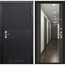 Входная дверь - BLACK с зеркалом Максимум - Венге cisa