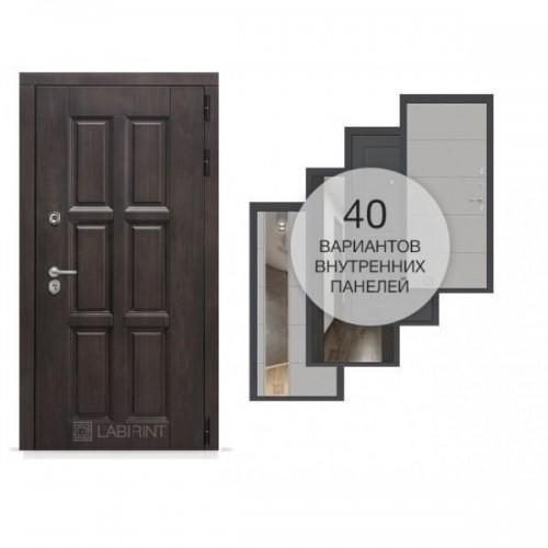 Входная дверь - Лабиринт ЛОНДОН Терморазрыв винорит Алмон 28