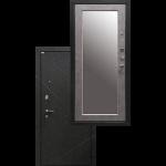 Входная дверь - Ратибор Эстет 3К Зеркало Светлый Бетон