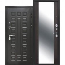 Входная дверь - 12 см Сенатор зеркало Венге