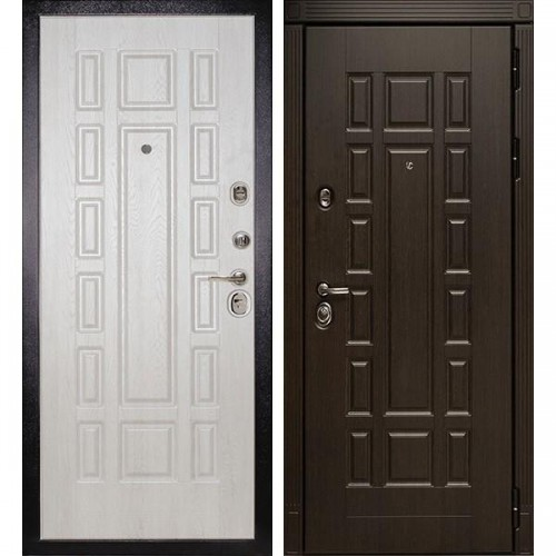 Входная дверь - Сударь МД-38 дуб филадельфия крем