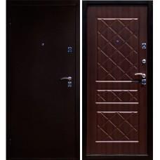 Входная дверь - ЮГАНСК ЭКО Русс Венге