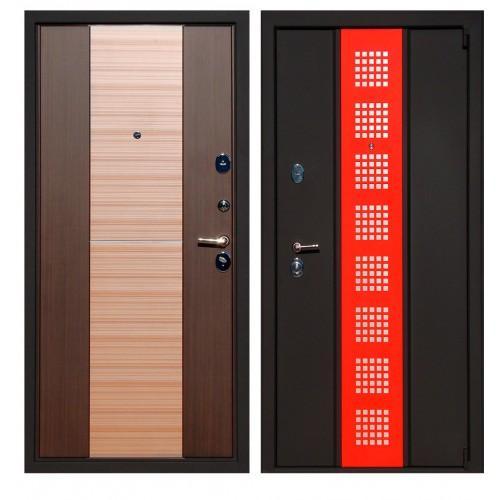 Входная дверь - ЮГАНСК Юг Persona 2 BLACK&red