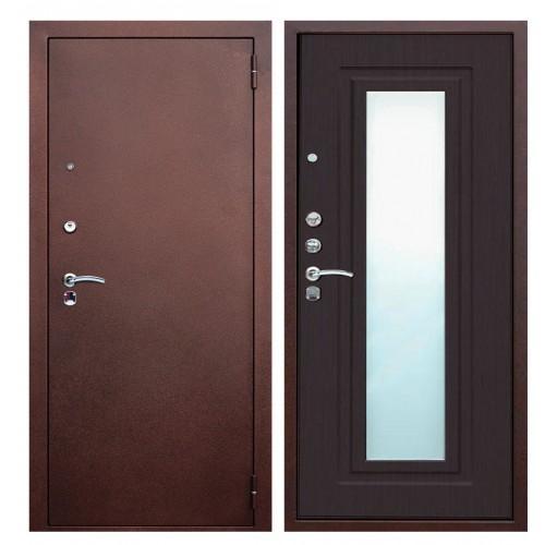 Входная дверь - ЮГАНСК Юг Царское Зеркало Венге